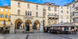 Venetian architecture in Split, Croatia