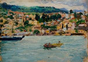 Impressionist painting of Trebizond
