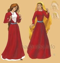 2nd Empire Bulgarian women's fashion
