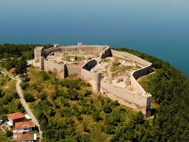 Tsar Samuil's Fortress, Ohrid
