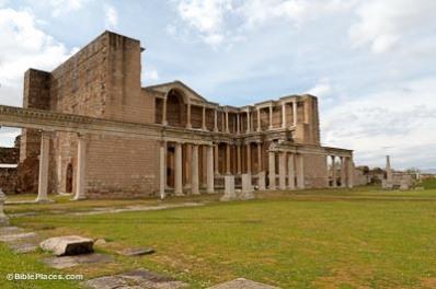 Sardis, former capital of ancient Lydia