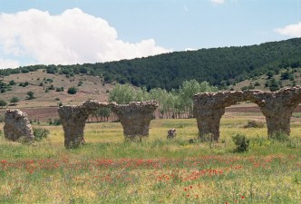 Remains of Byzantine Salata, Turkey