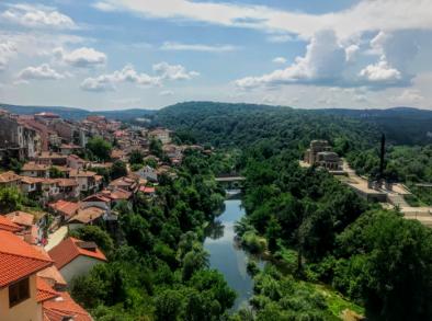 Tarnovo, Bulgaria- capital of the 2nd Bulgarian Empire