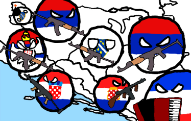 Bosnian 1990s war simplified