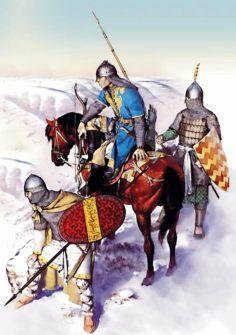Seljuk Turk soldiers