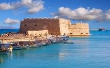 Venetian fort in Heraklion, Crete