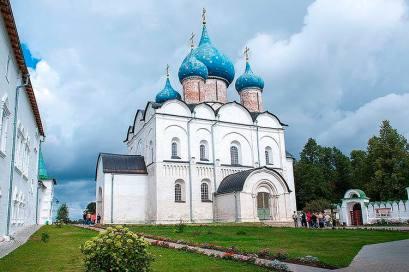 Today's Vladimir-Suzdal, Russia