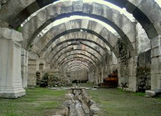 Remains of Ancient Smyrna, Turkey