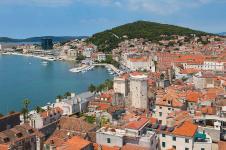 Split, Croatia (Spalatum) along the Dalmatian Coast