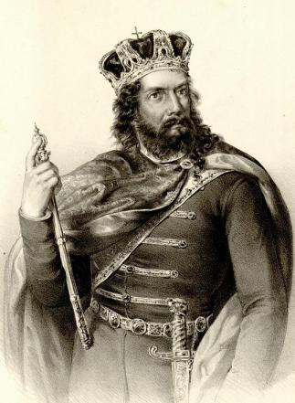 Stefan the First Crowned, First King of Serbia (r. 1217-1228)