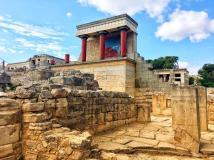 Minoan Civilisation ruins in Crete