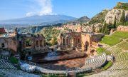 Amphitheatre of Taormina, Sicily