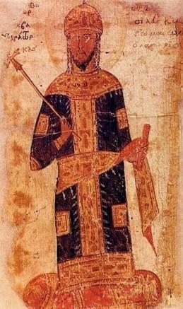 Byzantine image of Theodore II Laskaris (r. 1254-1258)