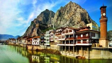Amasya, Turkey- former capital of the Armeniac Theme