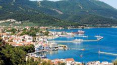 Thassos, Greece- former island possession of the Gattilusi