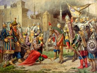 Ivan the Terrible defeats the Tatars at Kazan