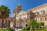 Mix of Byzantine, Arab, and Norman architecture in Sicily