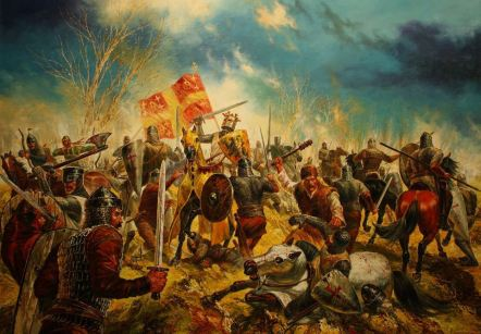 Battle of Adrianopolis, 1205- Latins vs 2nd Bulgarian Empire