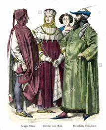 Medieval Venetian fashion