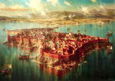 Sea fortress of Mesembria (now Nessebar, Bulgaria)