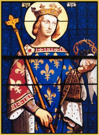 St. Louis IX, King of France (r. 1226-1270)
