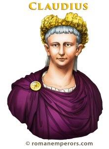 Roman Emperor Claudius I (r. 41-54AD)