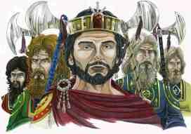Basil II and his Varangian Guards