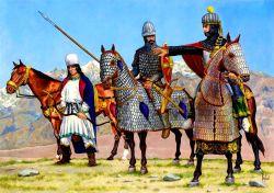 Sassanid Persian cataphracts