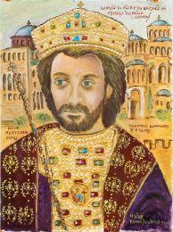 Drawing of Emperor John II the Good