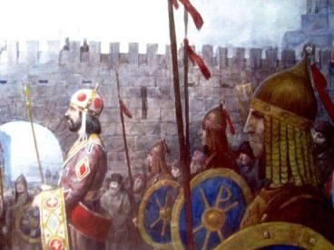 Alexios I in Constantinople