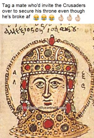 How to describe Alexios IV
