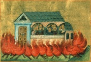 Persecution of Christians in Nicomedia under Diocletian, 303