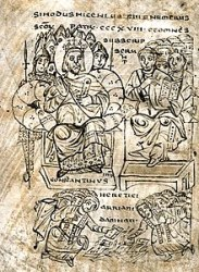 Constantine orders Arian books burned