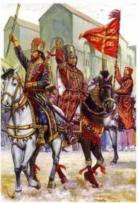 Andronikos III Palaiologos' civil war against his grandfather Andronikos II, 1321-1328