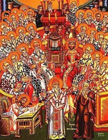 Constantine IV at the Council of Constantinople, 680-81