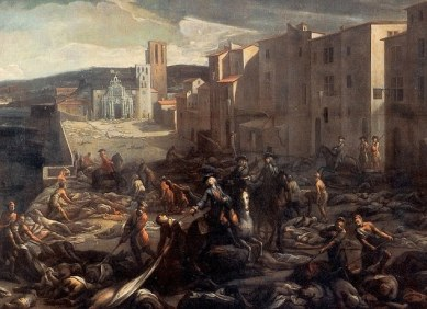Black Death devastates France