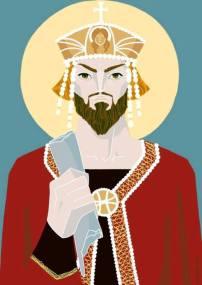 Emperor Heraclius (r. 610-641), son of the Exarch of Africa Heraclius the Elder