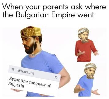 Meme of Basil the Bulgar Slayer