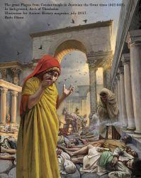 Plague of Justinian, 542