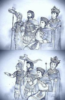 Justinian, Theodora, and Belisarius
