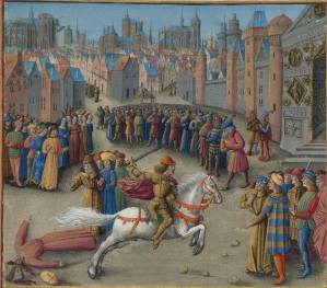 Isaac Angelos' rise to power, 1185