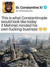 Constantinople if Mehmed had not taken it?