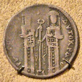 Coin of Andronikos II and co-emperor Michael IX