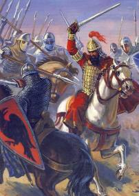 Alexios I fights Normans at the Battle of Dyrrhachion, 1081