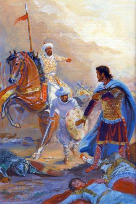Romanos IV defeated and captured at Manzikert, 1071