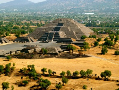 Remains of Teotihuacan, Mexico