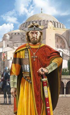 Basil the Macedonian, co-emperor of Michael III (866-867)