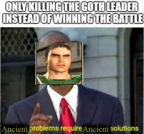Meme relating to Leo I