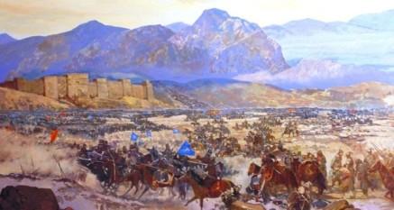 Defeat of the Byzantines to the Seljuks, Battle of Manzikert, 1071