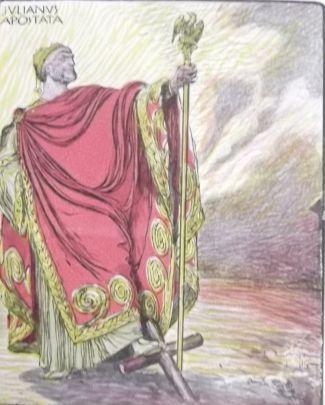Julian the Apostate drawing